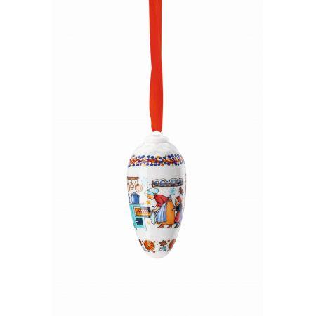 HUTSCHENREUTHER Porzellanzapfen  8,5 cm Weihnachtszapfen 2020