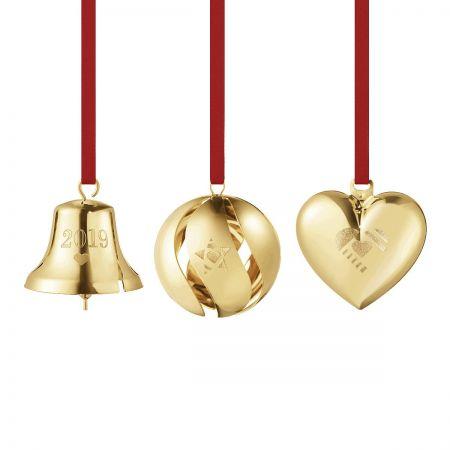 GEORG JENSEN 2019 Collectibles Geschenkset – vergoldet