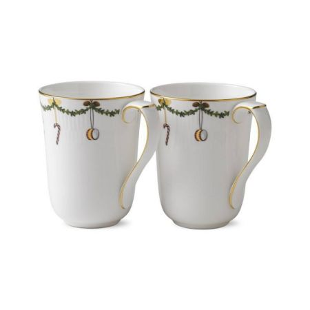ROYAL COPENHAGEN Star Fluted - 2 Becher